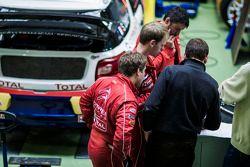 La Citroën DS3 spécialement préparée pour Sébastien Loeb et les X-Games