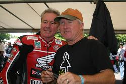 Wayne Gardner et Kenny Roberts