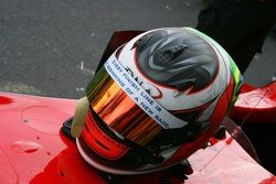Pipo Derani's helm