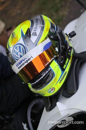 Tom Blomqvist's helm