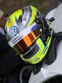 Tom Blomqvist's helmet