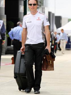 Sam Michael, McLaren Mercedes Mercedes Sporting Director