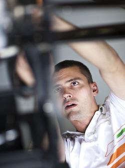 Sahara Force India F1 Team mechanic