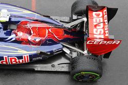 Scuderia Toro Rosso uitlaat