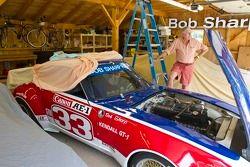 Bob Sharp met Datsun uit jaren 70