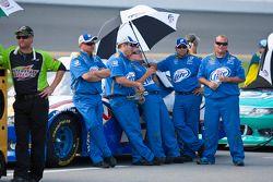 Penske Racing crew