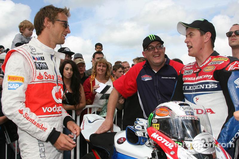 Jenson Button, John McGuinness
