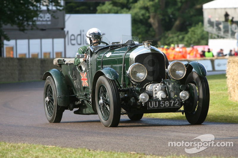 Bentley 4 5L Supercharged at Goodwood Festival of Speed