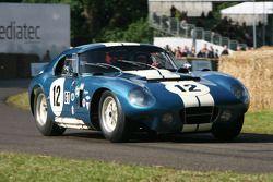 Kenny Brack in Shelby American Cobra Daytona Coupe