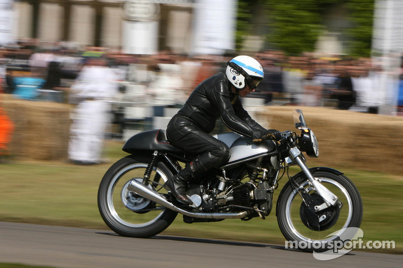 John Surtees on Norton F Type