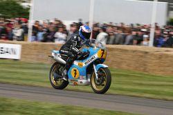 Steve Parrish op de Suzuki XR14 RG500