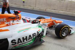 Paul di Resta, Sahara Force India uit de pits