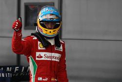 Polepositie Fernando Alonso, Scuderia Ferrari