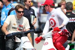 Will Power, Verizon Team Penske Chevrolet en Scott Dixon, Target Chip Ganassi Racing Honda