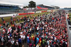 ГП Великобритании, Воскресенье, после гонки.