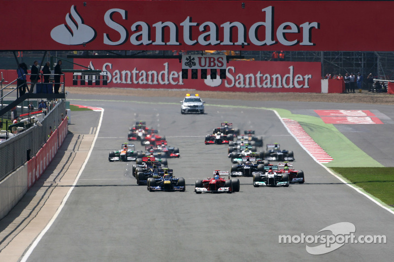 Start, race, Fernando Alonso, Scuderia Ferrari