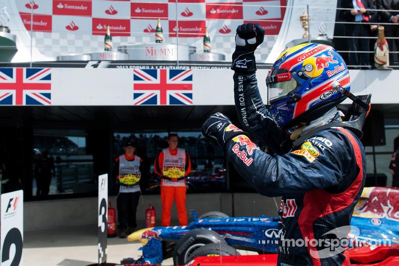 Марк Уэббер. ГП Великобритании, Воскресенье, после гонки.