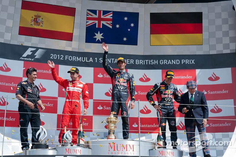 80- Fernando Alonso, 2º en el GP de Gran Bretaña 2012 con Ferrari