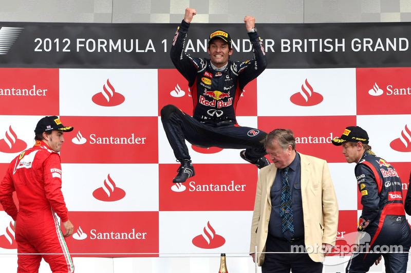 Mark Webber - Letzter Sieg: GP Großbritannien 2012 für Red Bull