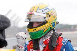Race winnaar Luiz Razia