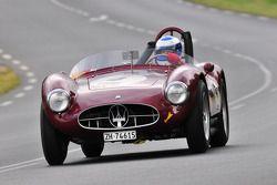 #2 Maserati A6GCS: Jean Jacques Bally, Bertrand Leseur, Paul Singer