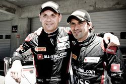Race winnaars Markus Winkelhock, Marc Basseng