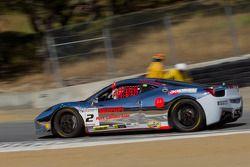 #2 Ferrari of Ft Lauderdale 458TP: Alex Popow wins under yellow flag