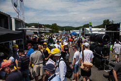 Autograph session at Lime Rock
