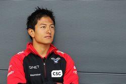 Rio Haryanto, pilote d'essais Marussia F1 Team