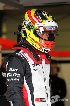 Rio Haryanto, Marussia F1 Team testrijder
