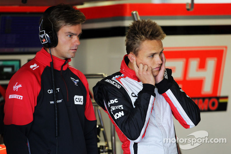 Max Chilton, Marussia F1 Team Test Driver, with brother Tom Chilton