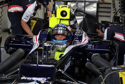 Valtteri Bottas, Williams derde rijder in de pits