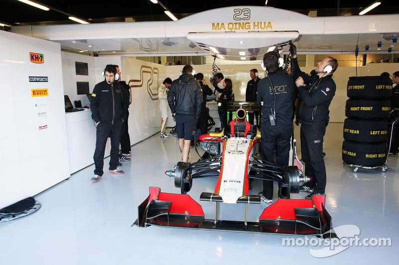 The Hispania Racing F1 Team, of Ma Qing Hua, Hispania Racing F1 Team, Test Driver