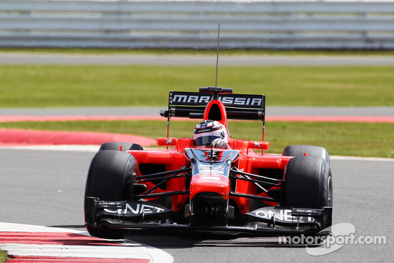 Max Chilton - 35 Grand Prix: 17.34 ortalama
