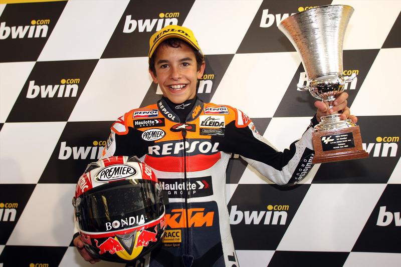 2008 - Eerste podium in een Grand Prix