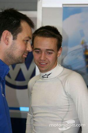 Деннис ван де Лар. GP Masters, пятничная тренировка.
