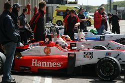 Конор Дэли, Пипо Дерани и Ханнес ван Ассельдонк. GP Masters, пятничная тренировка.