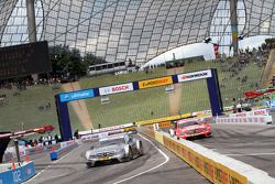 Christian Vietoris, Team HWA AMG Mercedes, AMG Mercedes C-Coupe Robert Wickens, Mucke Motorsport AMG