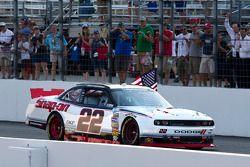 Race winner Brad Keselowski