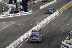 Ralf Schumacher, Team HWA AMG Mercedes, AMG Mercedes C-Coupe; Jamie Green, Team HWA AMG Mercedes, AM