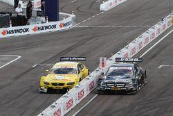 Dirk Werner, BMW Team Schnitzer, BMW M3 DTM; Joey Hand, BMW Team RMG, BMW M3 DTM; Gary Paffett, Team