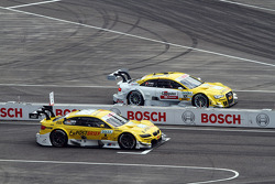 Dirk Werner, BMW Team Schnitzer, BMW M3 DTM; Rahel Frey, Audi Sport Team Abt, Audi A5 DTM