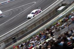 Andy Priaulx, BMW Team RBM, BMW M3 DTM; Filipe Albuquerque, Audi Sport Team Rosberg, Audi A5 DTM