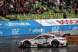 Martin Tomczyk, BMW Team RMG, BMW M3 DTM; Mattias Ekström, ABT Sportsline, Audi A5 DTM