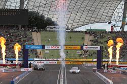 Jamie Green, Team HWA, AMG Mercedes, AMG Mercedes; Bruno Spengler, BMW Team Schnitzer, BMW M3 DTM