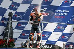 Podium: 2de Dani Pedrosa, Repsol Honda Team