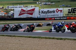 Supersport rode vlag herstart