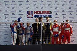 Podium: #67 IMSA Performance Matmut Porsche 999 GT3 RSR: Anthony Pons, Nicolas Armindo, Raymond Nara