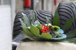 Winnaar's bouquet
