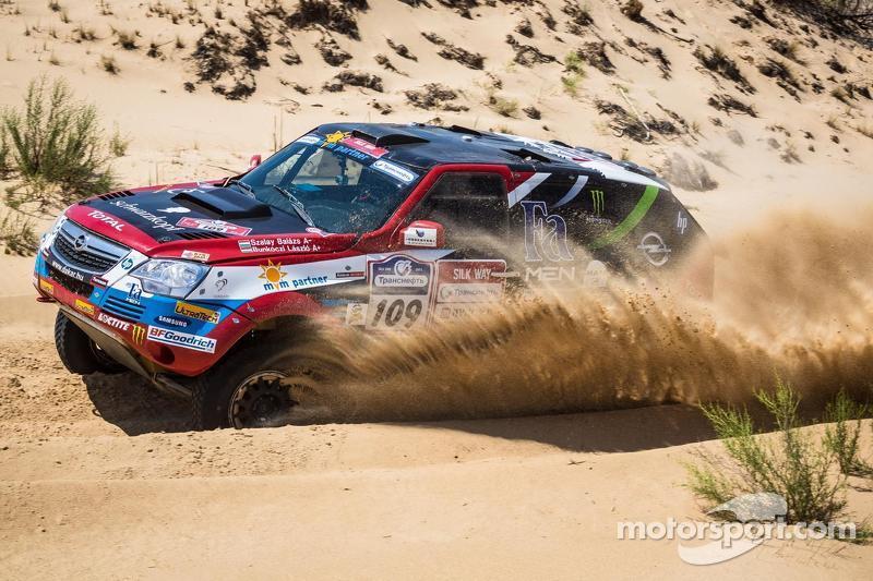 2nd places Balazs Szalay, Opel Dakar Team